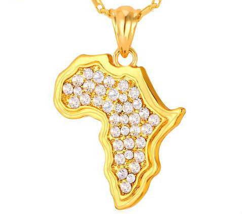 We Are Africa Dazzling Chain Pendant Necklace