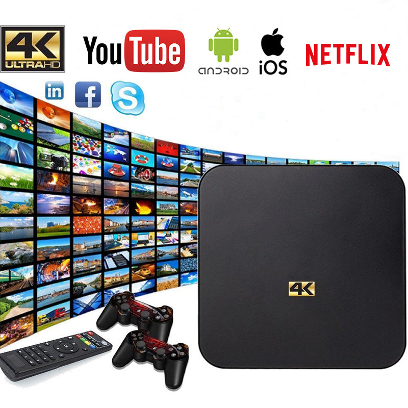 FO - Ultimate Entertainment 4K Smart TV Box