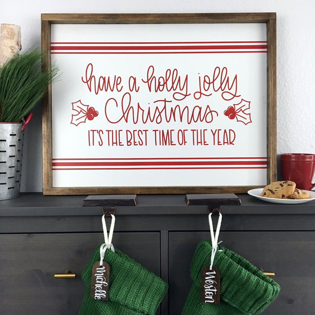"Have a Holly Jolly Christmas | 18""x24"" 