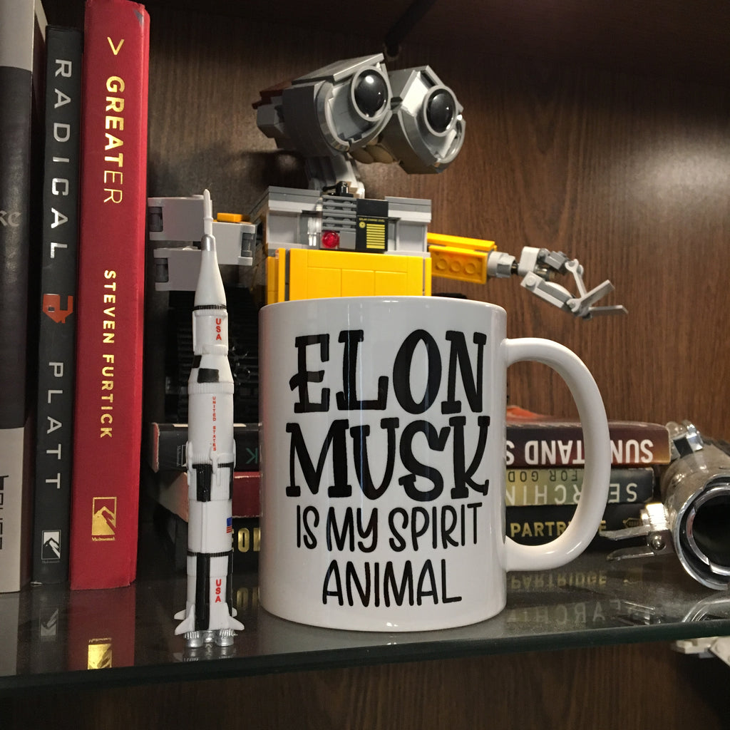 Elon Musk is my Spirit Animal  | Ceramic mug