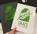Grace Each Morning Foil Print