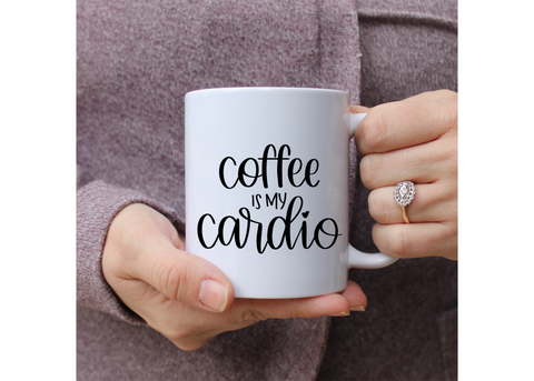 Coffee is my Cardio | Ceramic mug