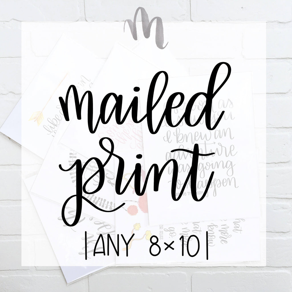 Printing Services | Any 8x10 print Printed and Mailed