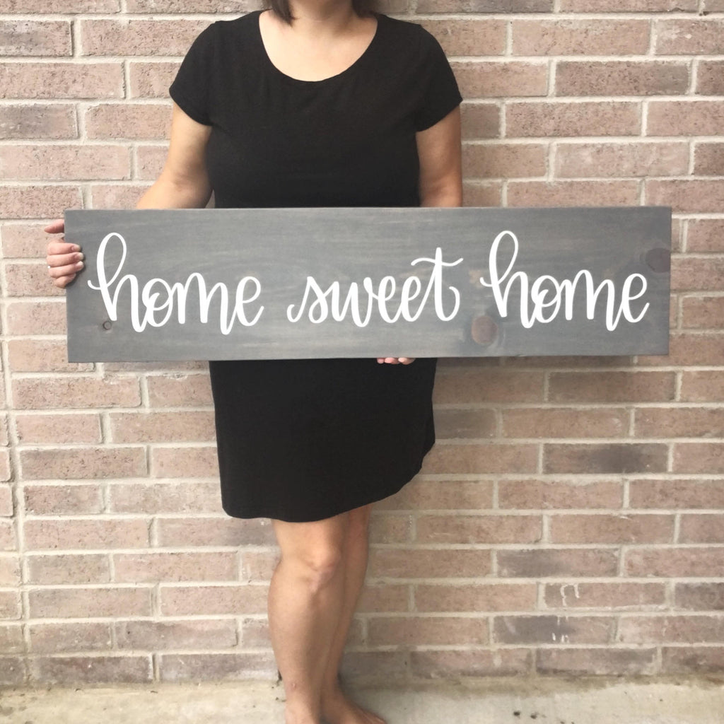 home sweet home | 10x36 | Wood Sign