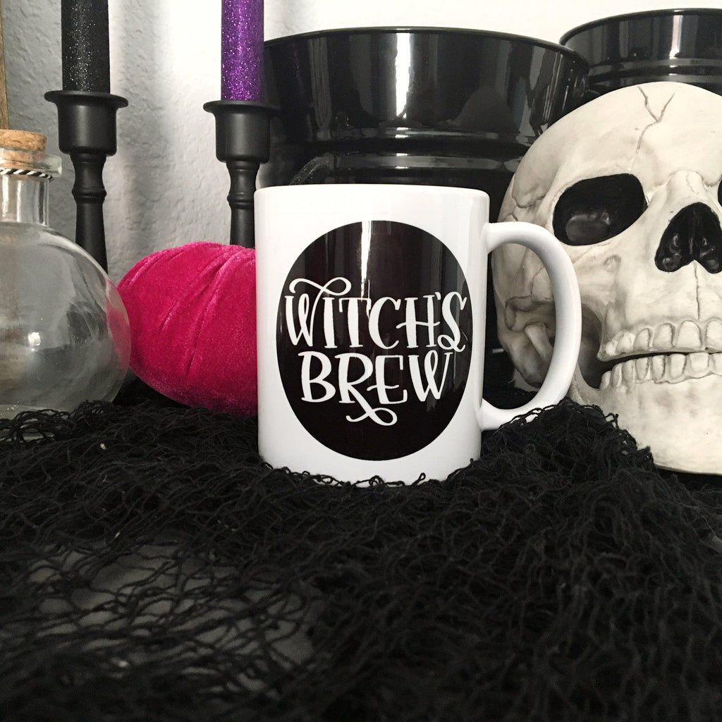 Witch's Brew | Halloween Mug | Funny Mugs for her