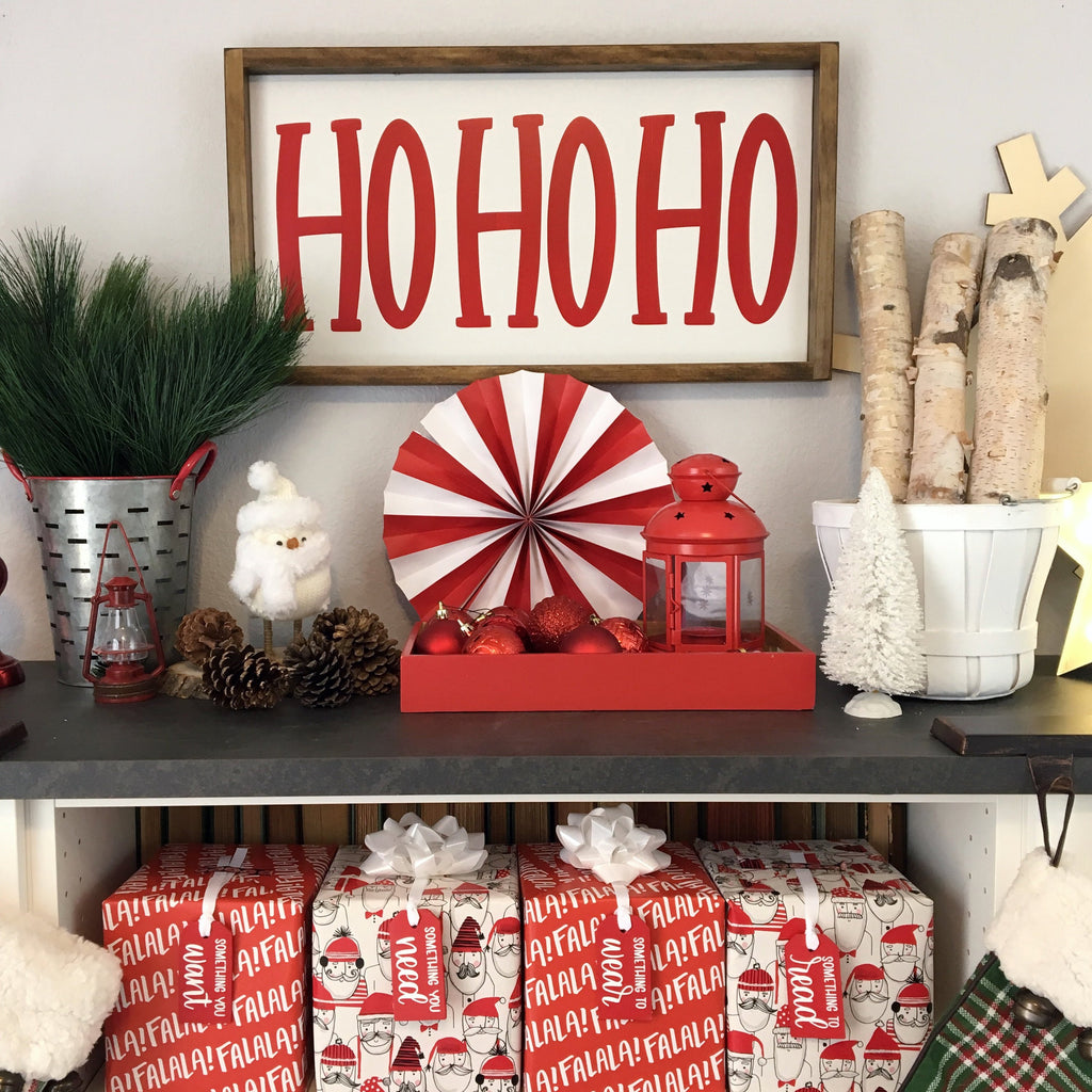 "HoHoHo | 13""x24"" 
