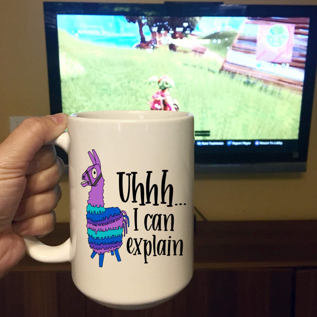 Llama - Uhhh... I can explain - Ceramic Mug