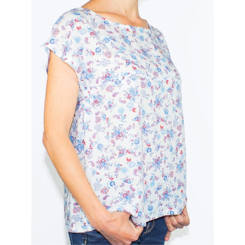 Top D'allaitement En Coton - Modèle Elie - GlamForMum - Made In France