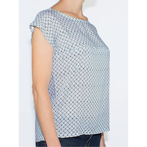 Top D'allaitement En Coton - Modèle Zoé - GlamForMum - Made In France