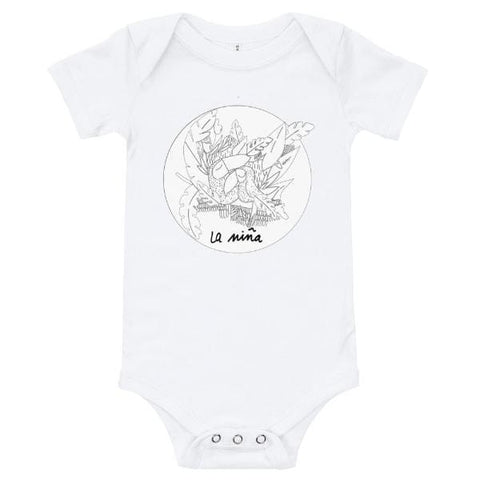 Collection BellyBulle - Body - La Niña - Noir & Blanc