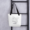 Image of Collection BellyBulle - Tote bag - La Madre - Noir & Blanc