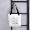 Image of Collection BellyBulle - Tote bag - Maman Parfaite - Noir & Blanc