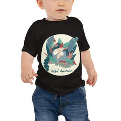 Collection BellyBulle - T.Shirt Enfant - Bébé Bonheur Version Toucan