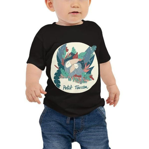 Collection BellyBulle - T.Shirt Enfant - Petit Toucan Version Toucan