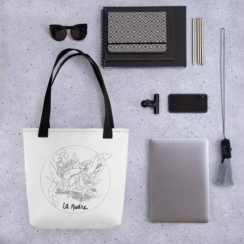 Collection BellyBulle - Tote bag - La Madre - Noir & Blanc