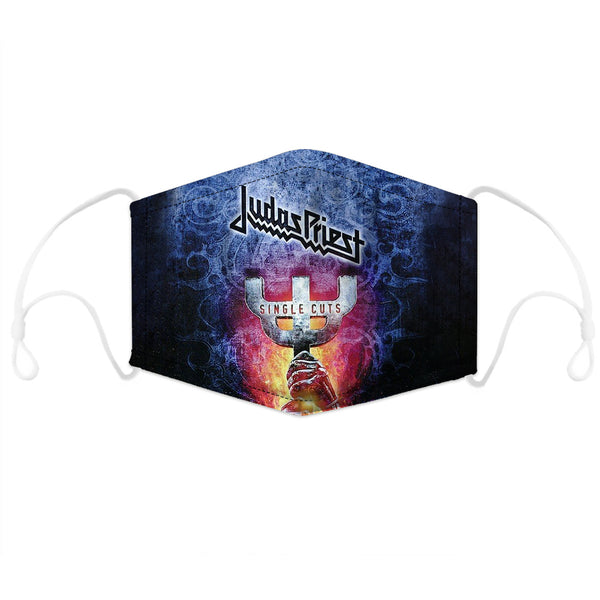 Judas Priest Filter Activated Face Mask Limited