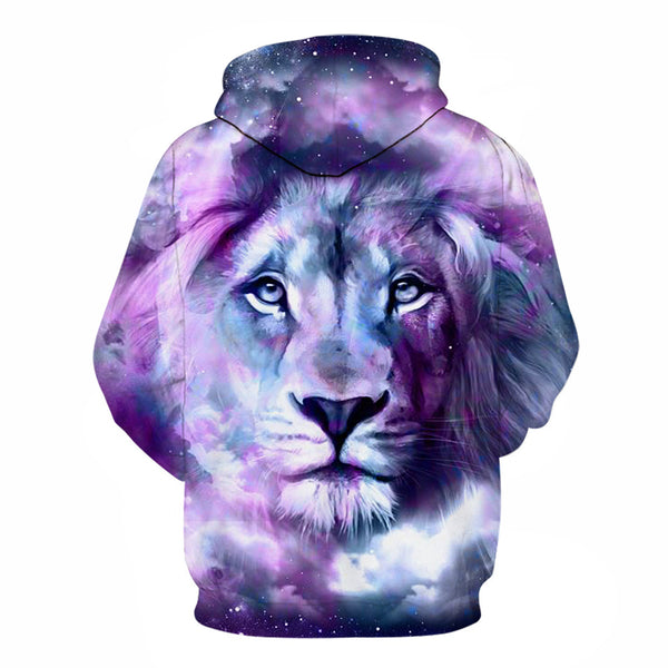 Purple Lion King 3D Full Printing