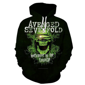Avenged Sevenfold 3D Full Printing
