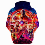 Avengers Infinity War 2018 Movie Characteres 3D Full Printing