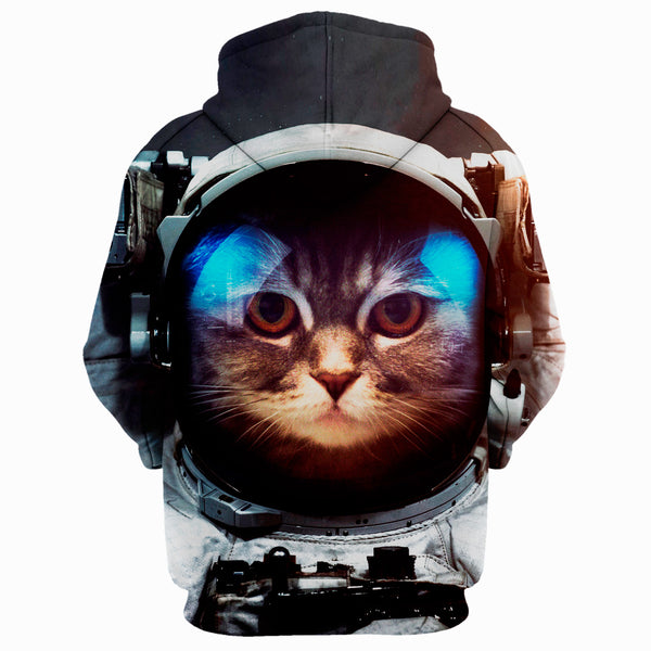 Astronaut Cat Full Printing