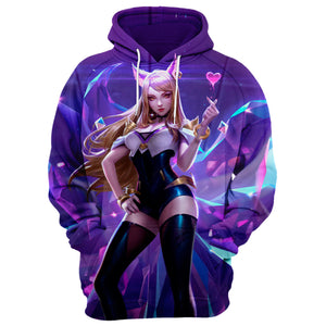 KDA Ahri League of Legends 3D Full Printing
