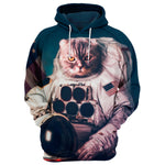 Astronaut Cat 3D Full Printing