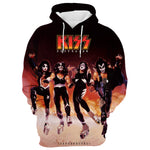 KISS Band 3D Full Printing