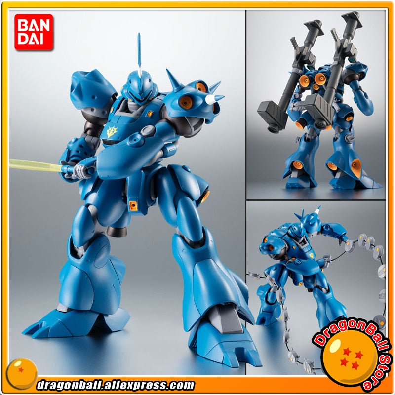"Japan Anime ""Mobile Suit Gundam"" Original BANDAI SPIRITS  Robot Spirits No. 252 Action Figure - MS-18E Kampfer ver. A.N.I.M.E."