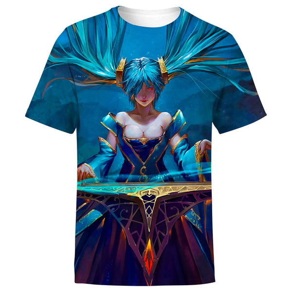 Sona League of Legends 3D Full Printing