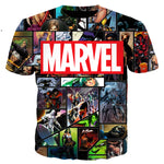 Marvel Comics 3D Full Printing