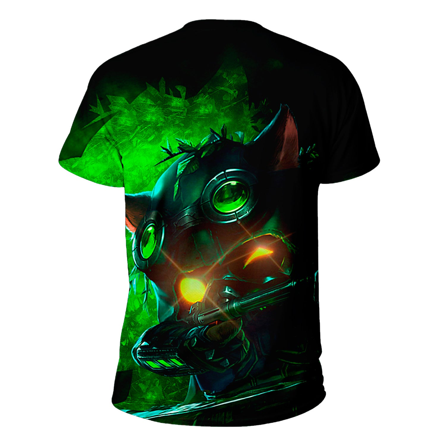 Omega Squad Teemo  League of Legends Warrior 3D Full Printing