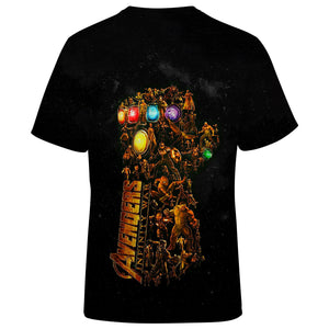 Marvel The Infinity Gauntlet 3D Full Printing