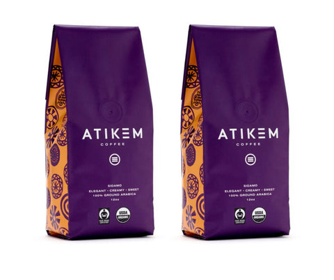 Image of ATIKEM Coffee (Ground) 12oz (2x Pack - US Only)