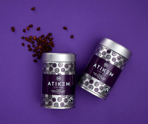 ATIKEM Coffee (Ground) 250g Tin (2x Pack)
