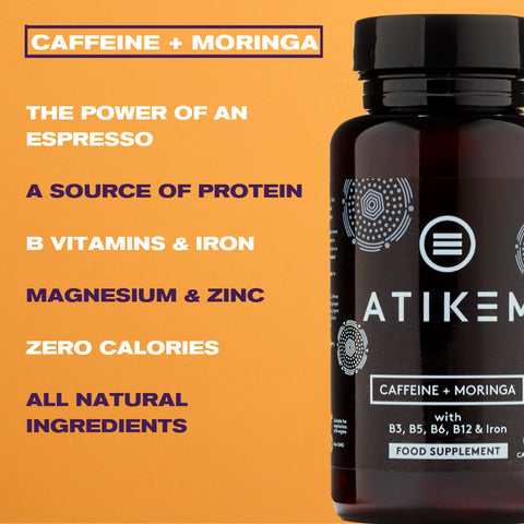 Image of Caffeine + Moringa Energy Supplement (2x Pack)