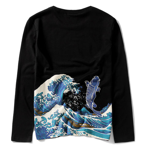 UKIYOE JAPAN T-SHIRT