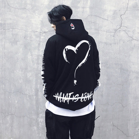 WHAT IS LOVE HOODIE