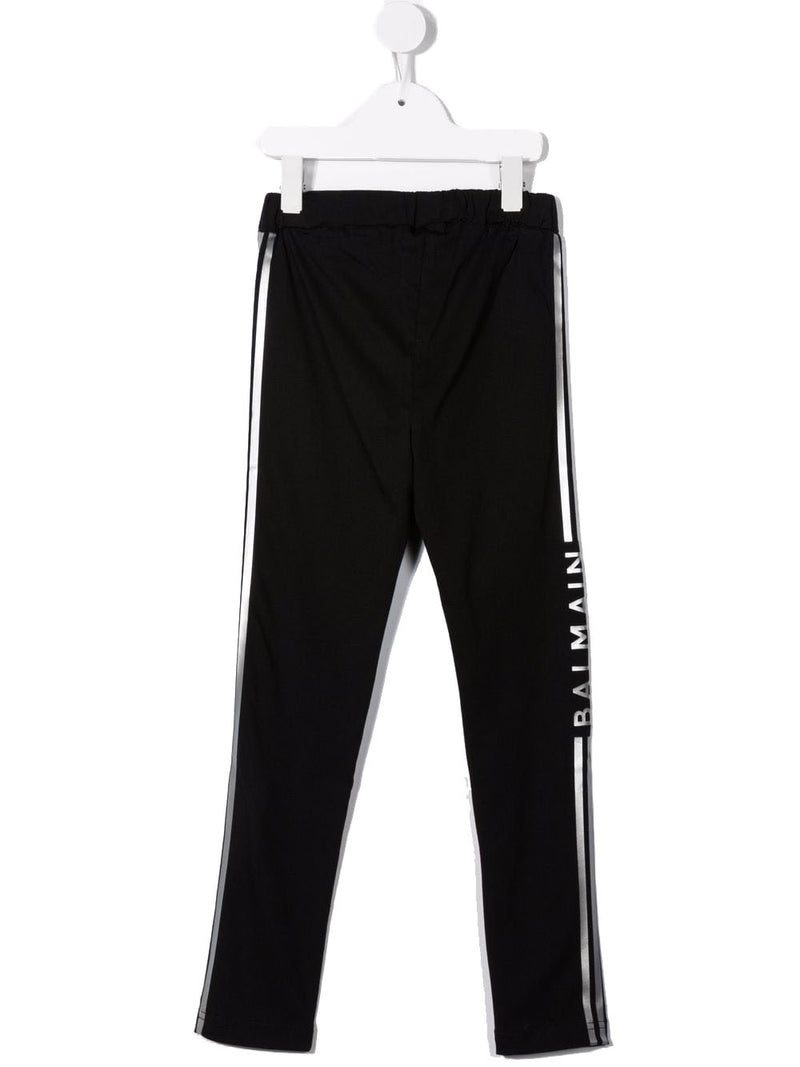 PALM ANGELS Tie Dye Chenille Track Pants Black/Purple