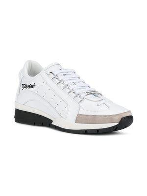 DSQUARED2 Vitello Sport Sneakers | Maison De Fashion