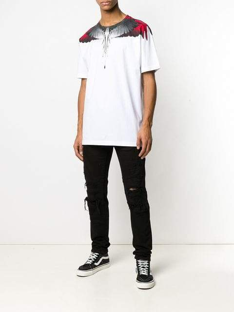 Marcelo Burlon Wings T-shirt | MAISONDEFASHION.COM
