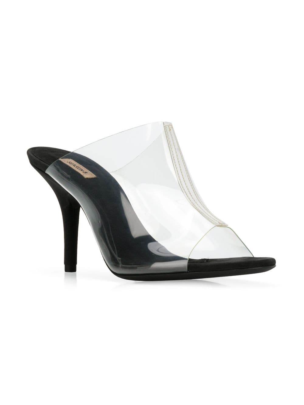 YEEZY Season 8 Clear Front Panel Mules | Yeezy Women