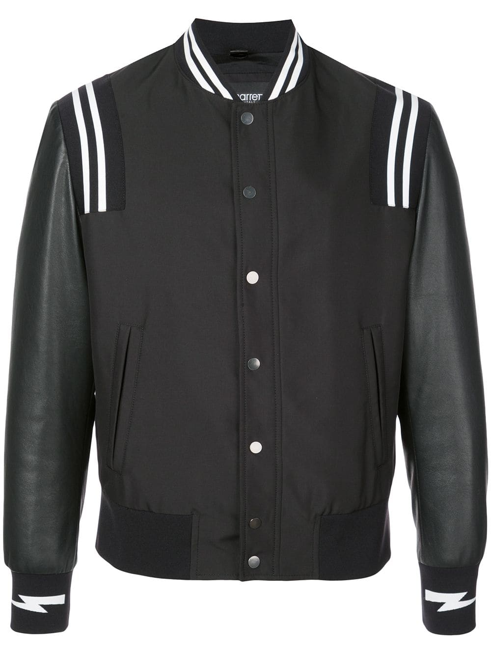 Neil Barrett stripe detail bomber jacket | Neil Barrett