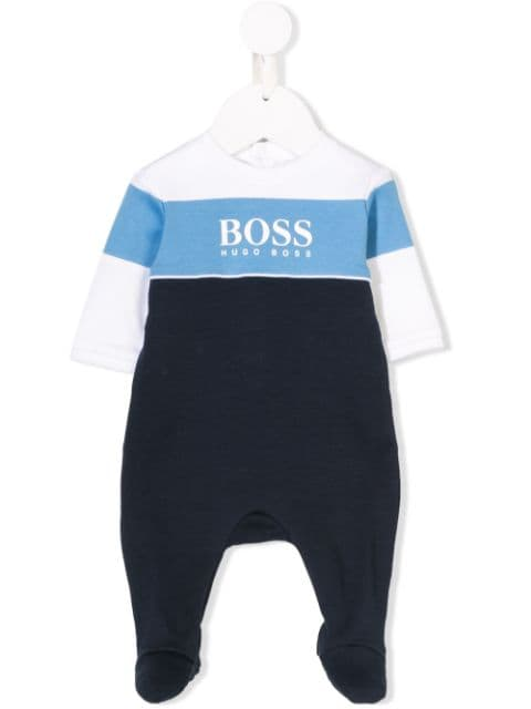 Boss Kids Colour Babygrow - Maison De Fashion