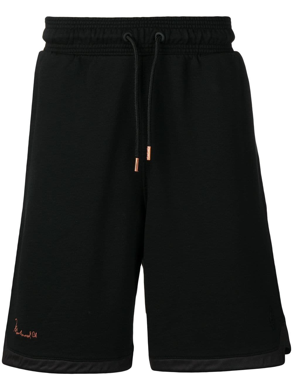 MARCELO BURLON COUNTY OF MILAN basic track shorts | MAISONDEFASHION.COM