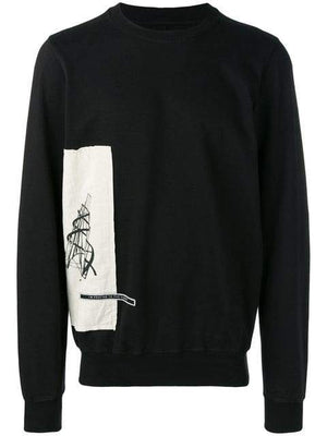 Rick Owens DRKSHDW Side Panel Sweatshirt | MAISONDEFASHION.COM