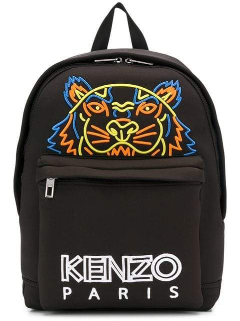 Kenzo Tiger Neoprene Backpack | MAISONDEFASHION.COM