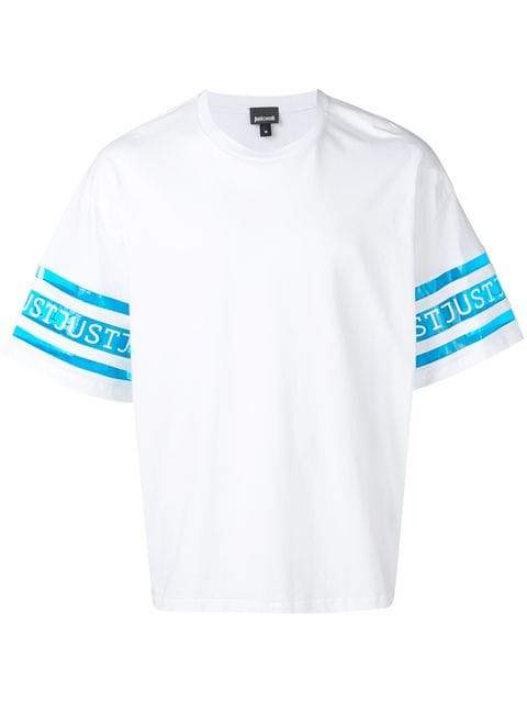 Just Cavalli T-shirt With Logo Print | MAISONDEFASHION.COM