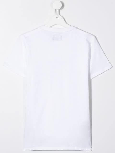 Teens EMPORIO ARMANI Logo T-shirt White - Maison De Fashion