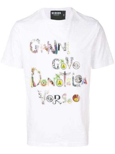 VERSUS Gianni Gave T-shirt | MAISONDEFASHION.COM