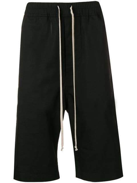 Rick Owens DRKSHDW Cropped Trousers | Maison De Fashion